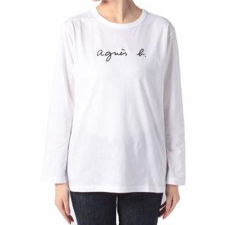 アニエスベー Tシャツ 長袖 ロンT ロゴ