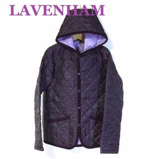 LAVENHAM ラベンハム☆フード キルティングジャケット
