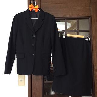 *【美品】INED ブラックスーツ*