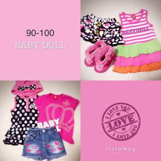 BABY DOLL 女の子90-100cm