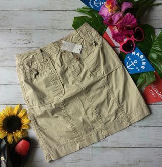 新品!タグ付き!avvミリタリー風×夏生地ミニスカート