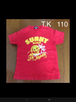 スカル Tシャツ 110