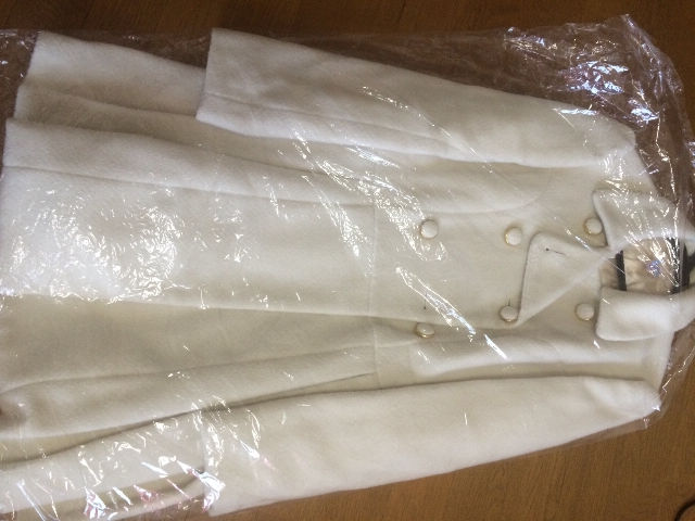 ダズリンのホワイトコート(dazzlin(ダズリン) ) - フリマアプリ&サイトShoppies[ショッピーズ]