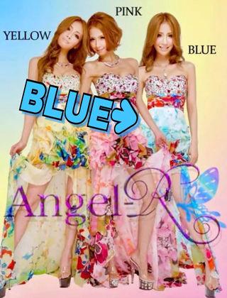 AngelR ミニロングドレス