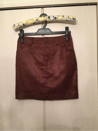 ジャスグリッティ レザー風タイトスカート