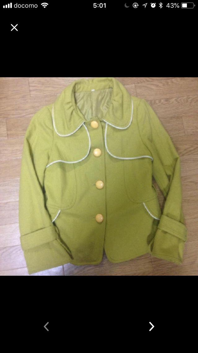 レトロなジャケットコート!