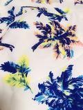リゾフラ柄ボタニカルスカート