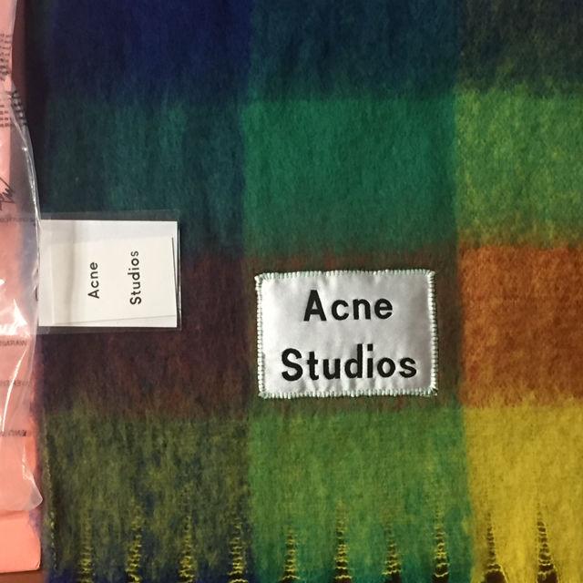 acne studios マフラーマルチe