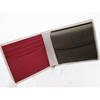 新品箱なし ポールスミス 二つ折り財布 カラーブロック