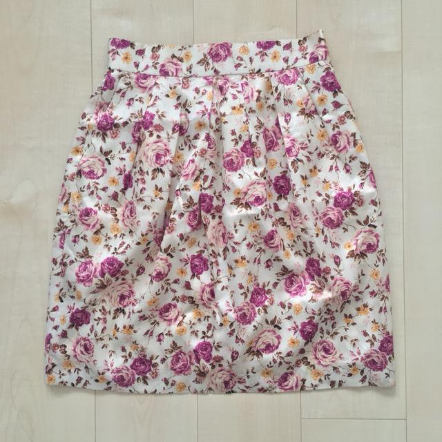 リッチミーニューヨーク 花柄 スカート