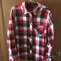 チェックシャツ(アズール)