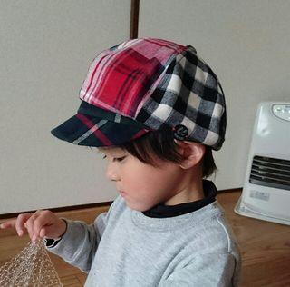 ジャンクストアチェック帽子