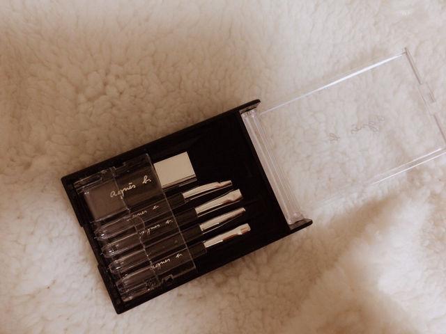 アニエスベー メイクブラシ5本セット