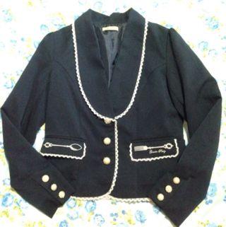 amavelカトラリー刺繍ジャケット
