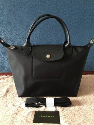 Longchamp トートバッグ 2WAY ブラック M