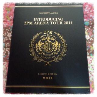 2PM ツアーパンフレット