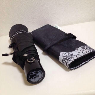 【非売品】ディズニー バケパ限定雨天兼用の折り畳み傘