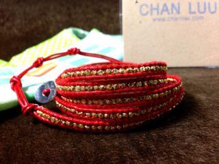スカルタイプ新品CHAN LUUチャンルー正規品ブレスレット
