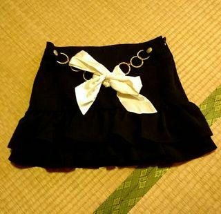 (訳あり未使用)ピンクミックスのスカート