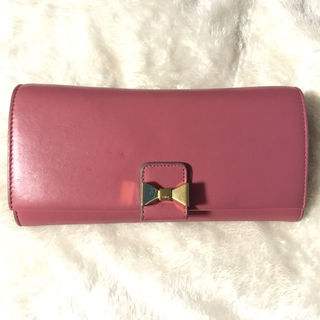 Chloeリボンモチーフ長財布