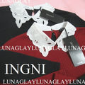 新品 INGNI トップス イング カットソー 長袖 黒