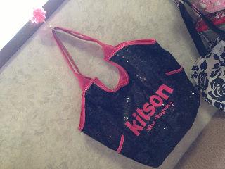 KitsonスパンコールBag