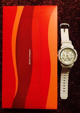 【人気】【美品】Baby-G ホワイト時計