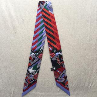 【大人気】シルク ツイリー バッグスカーフ アリアドネの糸