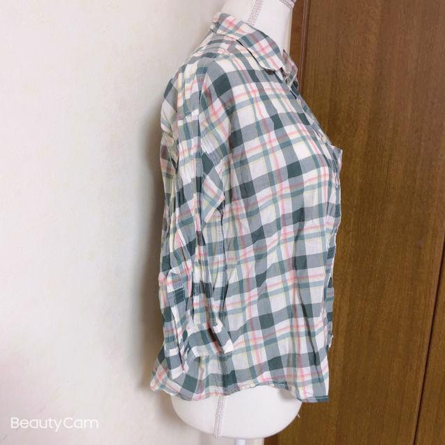 GUチェックシャツ