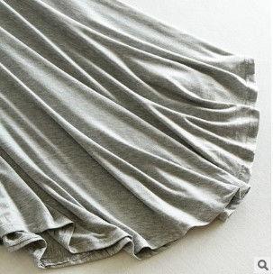 不規則 スカート ダークグレー