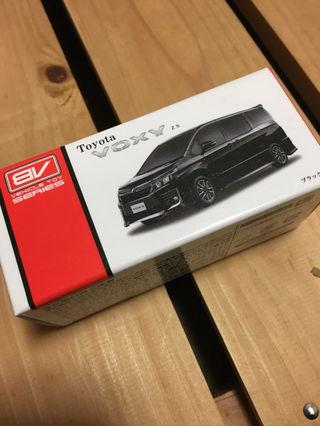 トヨタ VOXY ヴォクシー プルバックカーミニカーブラック