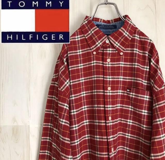 チェックシャツ(Tommy Hilfiger(トミーヒルフィガー) ) - フリマアプリ&サイトShoppies[ショッピーズ]