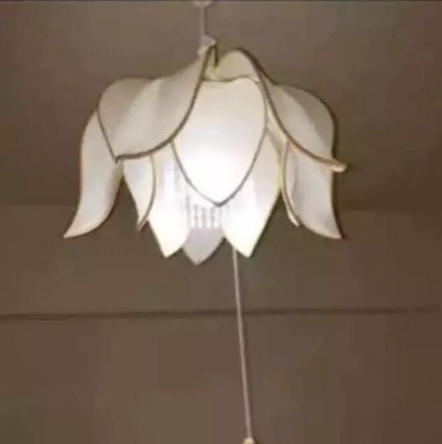 ペンダントライト 天井照明 ロータス 蓮子の花型