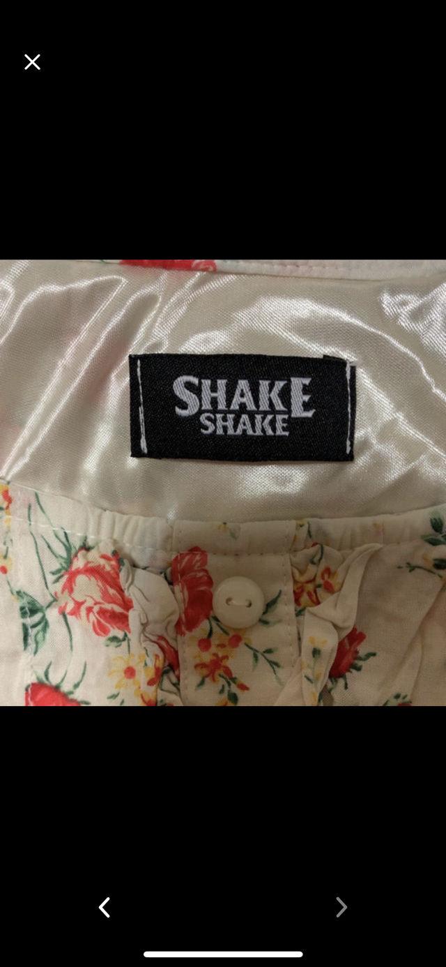 SHAKE SHAKE 花柄 ワンピース