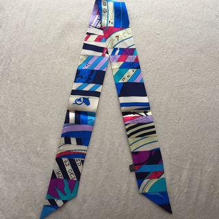 【大人気】シルクツイリー バッグスカーフ 新たなる占星術