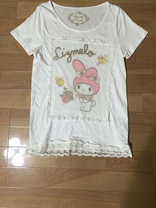 マイメロ  Tシャツ