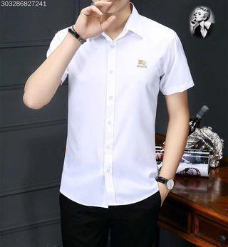 バーバリーBur Tシャツカップル ビジネス半袖カットソー