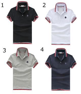 高品質新品MONCLER/モンクレールTシャツ男性用4色