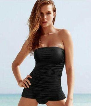 ヴィクトリアシークレット/ストラップレスシェイピングドレス