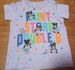 DOUBLE.B  Tシャツ 100