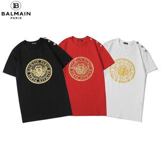 BALMAINTシャツ 大人気 男女兼用 BT-03