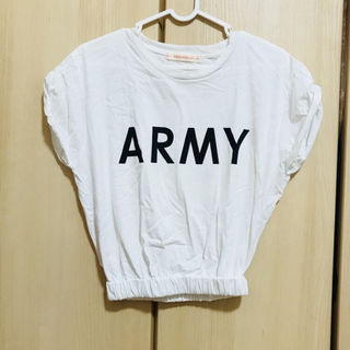 ARMY プリント Tシャツ