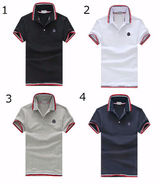 高品質新品MONCLER /モンクレールポロシャツ男性用4色