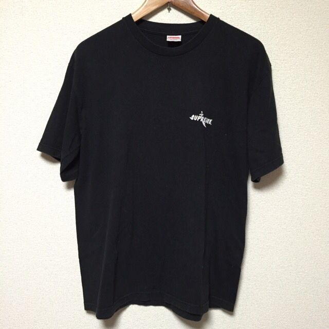 supreme スカルTシャツ