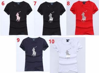 送料無料新品POLOポロ ラルフローレン女性用Tシャツ9色