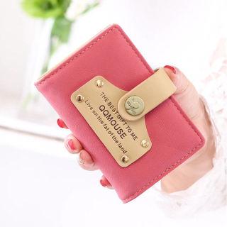 便利グッズ かわいい カードケース Pink ピンク