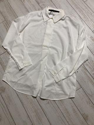 ケービーエフプラス後ろタックドルマンシャツ