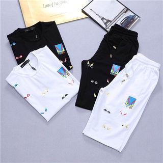 フェンデイ春夏Tシャツ上下セットTシャツ&パンツ セット販売