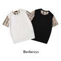 バーバリー 人気tシャツ メンズ色選択可能