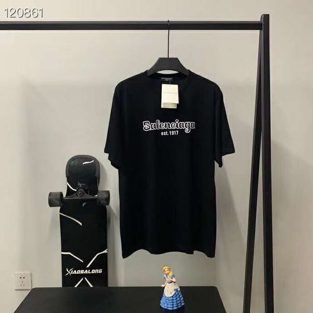 バレンシアガ 男女兼用 プリント 半袖Tシャツ (balenciaga(バレンシアガ) ) - フリマアプリ&サイトShoppies[ショッピーズ]